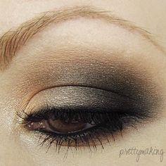 Love this subtle smokey eye