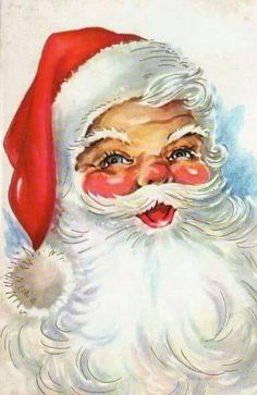 Ideas Vintage Christmas Paintings Noel For 2019 Vintage Christmas Images, Retro Christmas, Vintage Holiday, Silver Christmas, Victorian Christmas, Santa Paintings, Christmas Paintings, Christmas Scenes, Christmas Past