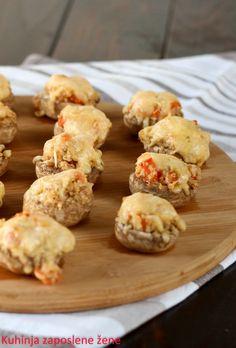 Kuhinja zaposlene žene: Pečurke sa bulgurom / Mushrooms with bulgur