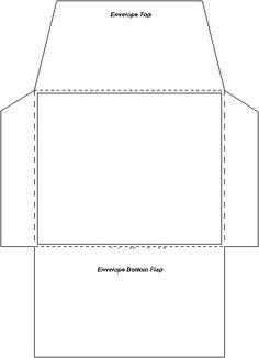 Haz tus propios sobres con el papel que quieras - invitaciones y detalles originales