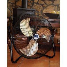 Big Fan Cooling Room Electric Fans for Home Garage Ventilation Water Damage Help #BigAir