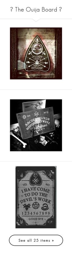 """ The Ouija Board "" by polyvore-motivation ❤ liked on Polyvore featuring ouija, tops and brown tops"