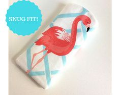 Padded Sunglass Case Flamingo Pouch Sunglass Pouch Eyeglass