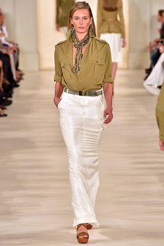 Ralph Lauren Spring 2015 Ready-to-Wear - #catwalk #runway #style #nyfw #newyork #fashionweek #white