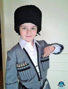 Dancing Circassian boy
