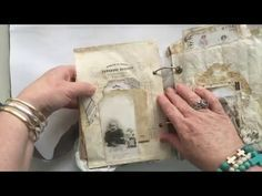 Another totally stunning Junk Journal!! by Angie Bunner - Pt 3 - YouTube