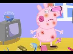 Свинка Пеппа поранилась