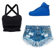 """""""Untitled"""" by sharisrush ❤ liked on Polyvore featuring NIKE"""