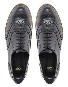 Image 2 of ASOS MATCH Leather Brogues