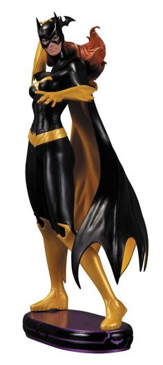 DC Collectibles DC Comics Cover Girls Batgirl Statue Sculpted By Jack Mathews
