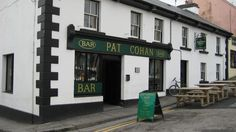 Pat Coahns Pub in Cong Ireland. Used in the film The Quiet Man with John Wayne