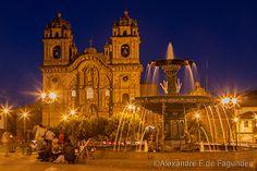 Templo de La Companía de Jesus - Cusco - Peru