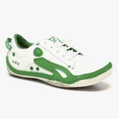 Boutique Sneaker in White & Green