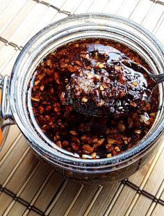 Chinese Fried Red Chili Sauce