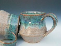 As I said, I have a thing for mugs. Love the glaze...and the shape...and the size...and the etc, etc, etc.: