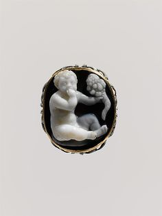 Sardonyx cameo of the infant Harpokrates Period: Late Hellenistic or Early Imperial Date: 1st century B.C.–1st century A.D. Culture: Roman or Greek Medium: Sardonyx