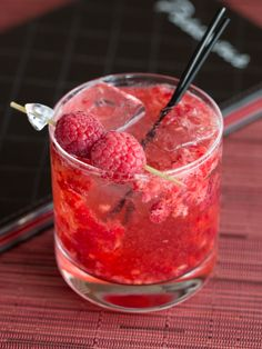 Freshly muddled raspberries swim with White Port, St-Germain and bubbles in our signature cocktail, the Porto Fresco...