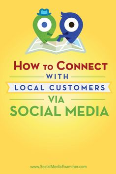 Want to increase your visibility in your local market?  When you understand which features on social media support local marketing, you can focus the power of Facebook, Twitter, LinkedIn, and Instagram to expand influence in your little corner of the world.  In this article you'll discover how to connect with local customers on the top social media networks. Via @smexaminer.