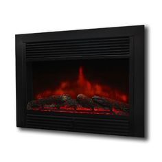 XtremepowerUS Embedded Electric Fireplace Insert Heater W/Remote Control Electric Fireplace Logs, Electric Logs, Electric Fireplaces, Best Space Heater, Thing 1, Fireplace Inserts, Remote, Stove, Living Room