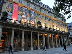 Comedie Francaise: Place Colette: Paris: September 2010 v4 by Barmy Bee, via Flickr