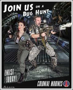 Colonial Marines Recruitment Poster