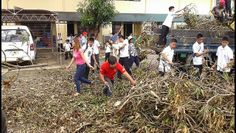 Baggao Lions Club (Philippines) | Day 5 of Post Typhoon Clean-up drive / Garbage Collection by Baggao Lions Club