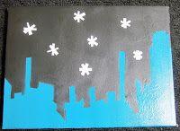 Skyline Canvas diy