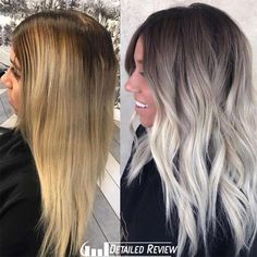 Hair Color Trends In 2019 Before & After: Highlights On Hair + Tips; Hairstyles, Hair Color Trends In 2019 Before & After: Highlights On Hair + Tips;Trendy Hairstyles And Colors Women Hair Colors; Curled Hairstyles, Pretty Hairstyles, Wedding Hairstyles, Amazing Hairstyles, Teen Hairstyles, Style Hairstyle, Hairstyle Ideas, Pelo Color Ceniza, Hair Color For Women