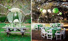 | Decoración de bodas al aire libre