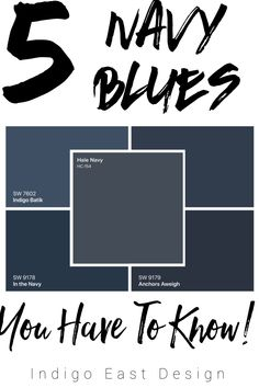 Trendy home office blue paint navy walls 48 Ideas Navy Paint Colors, Door Paint Colors, Exterior Paint Colors, Exterior House Colors, Paint Colors For Home, Bungalow Exterior, Navy Blue Color, Navy Walls, Painted Front Doors