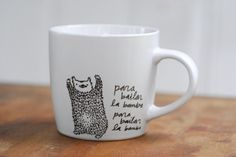 La Bamba Dancing Bear mug by Corduroy @Joyce Caballero