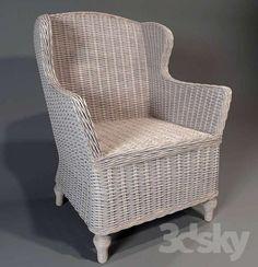 wickerwork seat