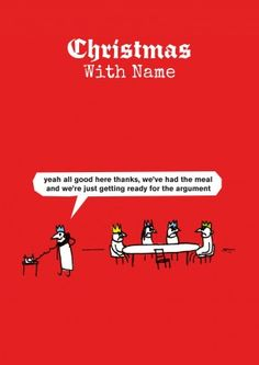 christmas argument funny christmas card hilariously true to life xmas dinner card after all - Best Christmas Card