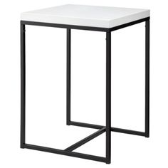 Accent Table - Mod White