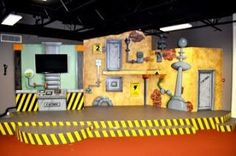 Stage design idea for Maker Fun Factory VBS