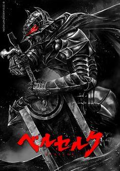 ArtStation - Berserk:Guts, Jason Z. Dark Fantasy Art, Dark Art, Berserker Tattoo, Tatuagem One Piece, Manga Art, Anime Art, Animated Icons, Sarada Uchiha, Anime Tattoos
