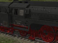 DR BR 01.5 (Reko) mit Verkleidung, Boxpokrädern