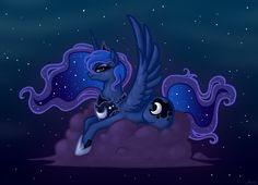 Princess Luna by ~Malliya on deviantART