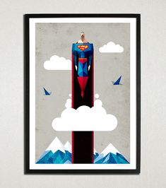 Superman on Behance