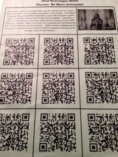 Scrapbook of a School Counselor: the Staff iPad Scavenger Hunt / Morale Booster