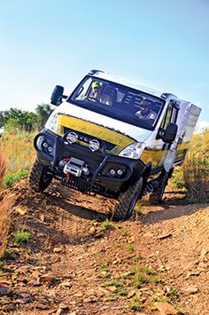 The Iveco Daily was launched a few years ago in foreign markets, but, owing Iveco Daily 4x4, Adventure Magazine, Van Camping, Van Life, Campers, Offroad, Gadgets, Trucks, Vehicles