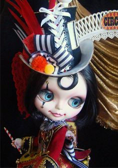Anuska - Circus Girl Custom by R. Szani Outfit by Wivi Szani - Wilma Garcia Owner: @anamonteiro5030