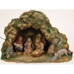 Christmas Central offers Christmas Nativity Pieces including Lighted Nativity Figures, Outdoor Nativity, Fontanini Pieces, Stables, & more! Christmas Crib Ideas, Christmas Nativity Set, Felt Christmas Ornaments, Christmas Past, Christmas Central, Christmas Holidays, Christmas Decorations, Italian Christmas Traditions, Fontanini Nativity