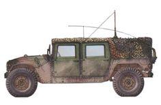 HMMWV M998, modelo básico para el transporte de tropa, durante REFORGER 1990, ejercicios 'Centurion Shield'. Pin by Paolo Marzioli
