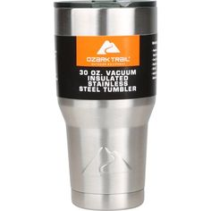 Enjoy your favorite beverage on the go with this Ozark Trail 30 oz, Double-Wall, Vacuum-Sealed Tumbler. It is ideal for a range of activities including hiking,