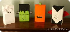 HALLOWEEN BLOCKS- my franky needs friends next year. Maybe a purple witch too...