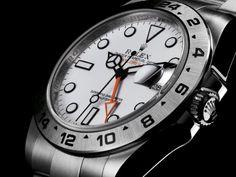 永生名錶珠寶交流中心-ROLEX 勞力士 EXPLORER Ⅱ 216570 探險家2型 白色面盤 亂碼字頭 42mm 錶友珍藏新品
