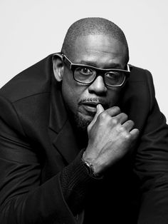 Forest Whitaker (1961) - American actor, producer and director. Photo by Peter Hapak