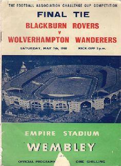 FA Cup Final, Blackburn Rovers v Wolves 1959-60 programme in Sports Memorabilia, Football Programmes, FA Cup Fixtures   eBay
