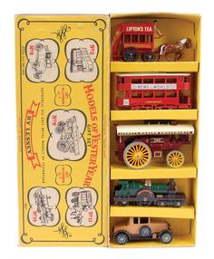 The Ron Calcott Matchbox Collection | Models of Yesteryear Gift Sets | Vectis Toy Auctions Matchbox Models Of Yesteryear No.G7 Gift Set Comprising Of No.Y2